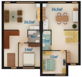 Вариант 1 - 2 этаж