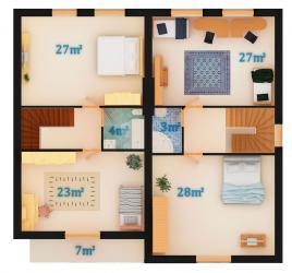Вариант 2 - 1 этаж