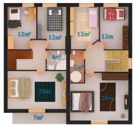 Вариант 2 - 2 этаж