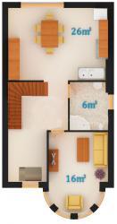 1 этаж (2 вариант)