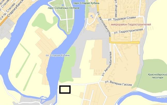 Место расположение коттеджного поселка